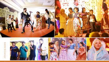 thrilling performance at wedding day
