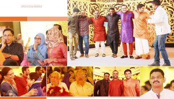 friends-relatives of bride and groom