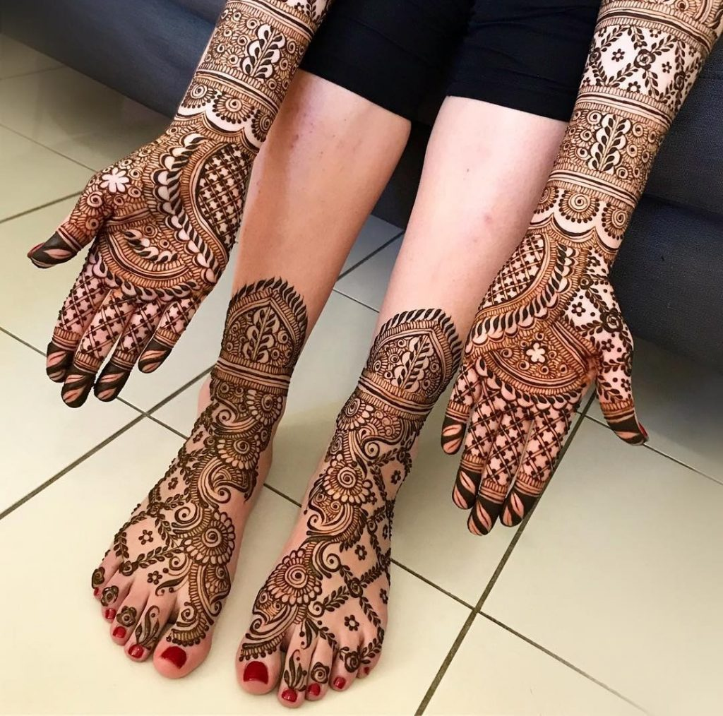 Arabic-Mehndi-Designs-for the-Bride
