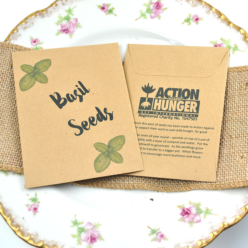 charity donation seed paper